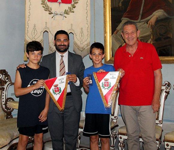 Lugo: Parkourgym, il sindaco Davide Ranalli ha incontrato gli atleti Francesco Poli e Francesco Zanotti