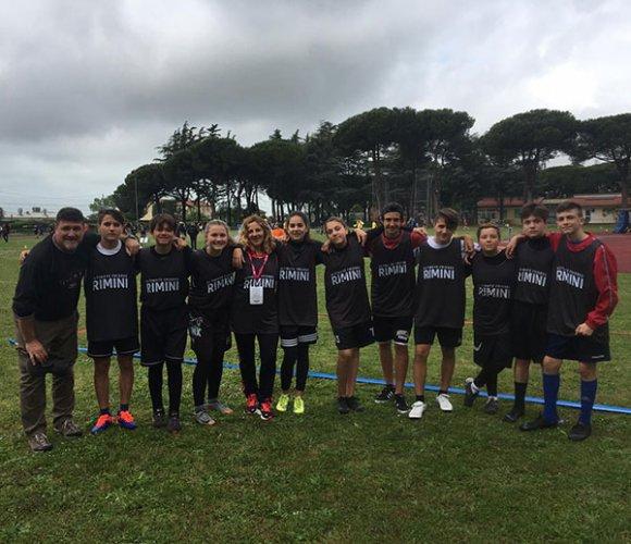 La Scuola Media di Miramare è campione d'Italia di Ultimate Frisbee