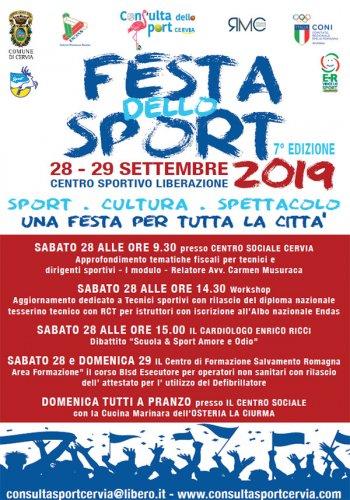 Festa dello sport 2019 a Cervia