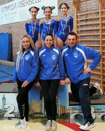 Ginnastica artistica: Si apre brillantemente la stagione agonistica 2019 per le atlete dell'Accademia della ginnastica San Marino a.s.d.