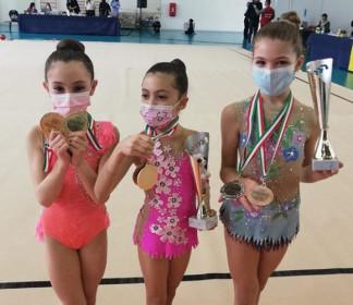 Buon inizio di stagione per le piccole atlete della SS Ginnastica San Marino