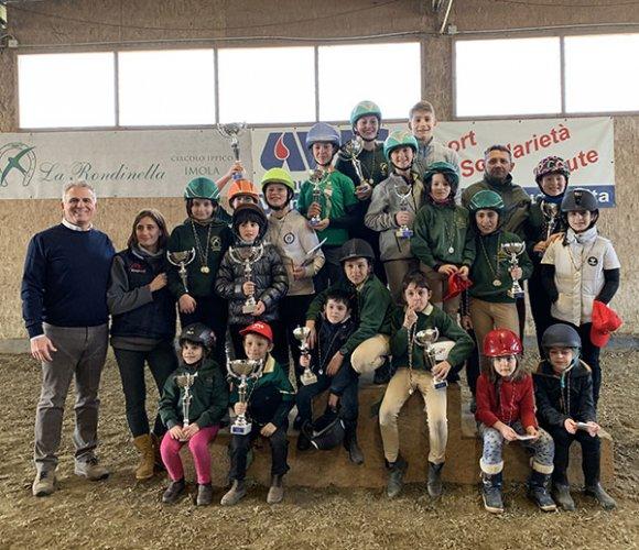 Equitazione - Grande successo per la finale del GPR AVIS!