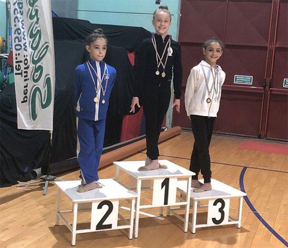 Ginnastica Ritmica - L'Edera Ravenna conquista ben 6 medaglie ai campionati individuali Gold FGI