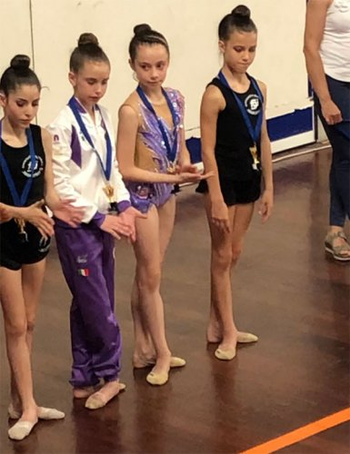 Ginnastica Ritmica - Emozioni e medaglie dalle atlete Mya Gym