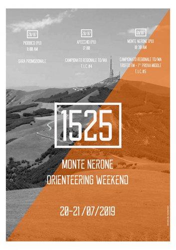Orienteering weekend sul Monte Nerone