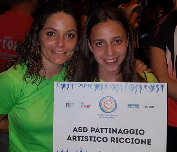 Grandi soddisfazioni per il Roller Riccione alla prima fare dei Campionati Italiani Freestyle a Osimo