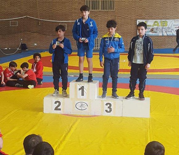 Pol. Sacca Lotta fa scorta di medaglie al Trofeo Athena