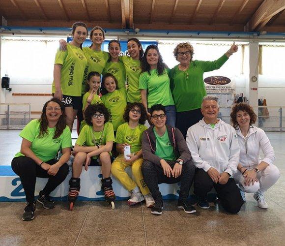 Campionato regionale freestyle FISR a Riccione: entusiasmo in pista e sugli spalti