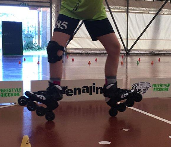 Il Roller Riccione ospita il raduno della Nazionale Italiana di pattinaggio in linea freestyle