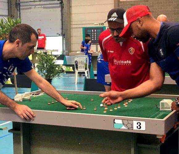 Il reggiano Saverio Bari campione d'Europa con la Nazionale di Calcio Tavolo