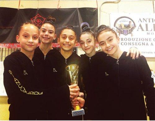 Le ginnaste Allieve Biancoverde Campionesse interregionali Gold2!