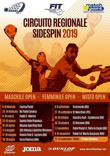 Conti-Munoz vincono a Faenza la prima tappa del circuito Sidespin