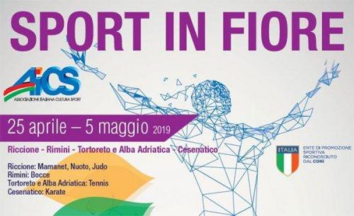 Dal 26 aprile al 5 maggio Riccione e Rimini ospitano la 25esima edizione di Sportinfiore