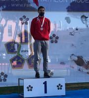 Pentathlon moderno: Federico Alessandro vince il criterium nazionale assoluto