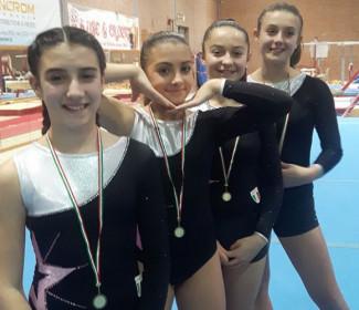 Ginnastica Artistica Riminigymteam partecipazione Campionato regionale gaf e gam