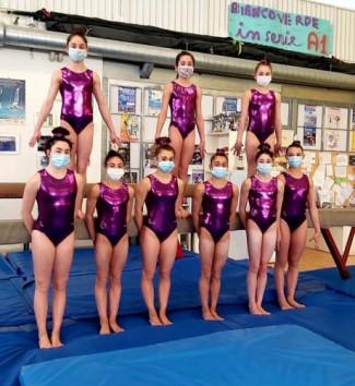 Ginnastica Biancoverde presenta la squadra di Serie A1