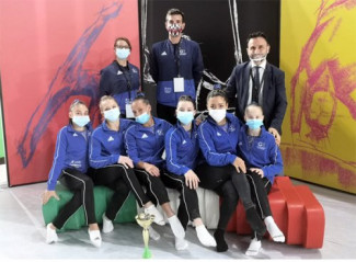 La Ginnastica Riccione vince lo scudetto della Serie B di Ginnastica Artistica FGI ed è promossa in A2