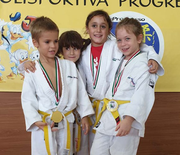 Il Judo Polisportiva Riccione ha iniziato la stagione agonistica al Memorial Carola di Castelmaggiore
