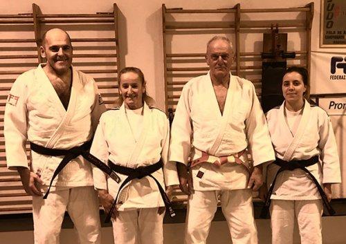 3 nuove cinture nere per il Team Romagna Judo
