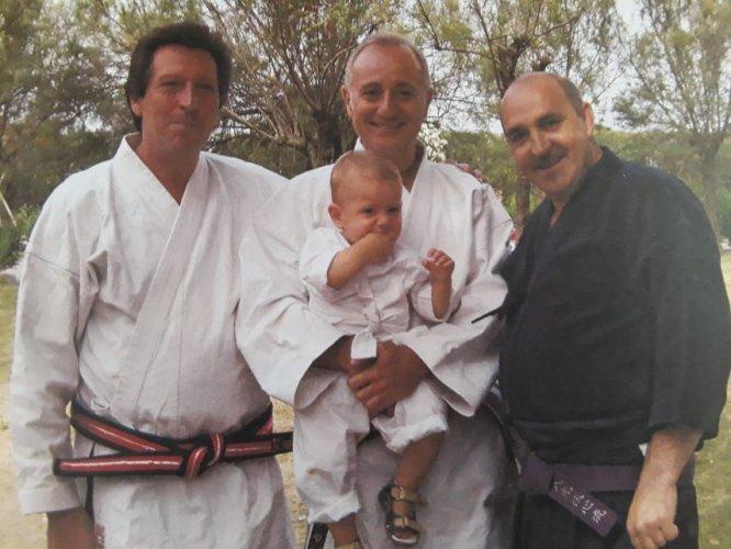 """Alberto Parmeggiani : """"il Ju Jitsu è indispensabile nella mia vita """"."""