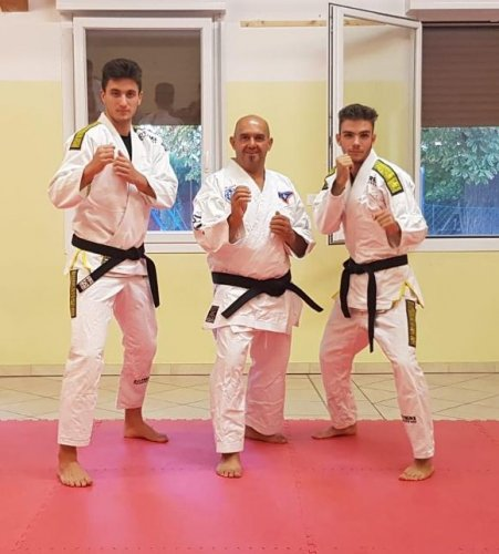 """Emanuele Caleffi : """"Il Ju Jitsu? Un aiuto fondamentale nella quotidianità""""."""