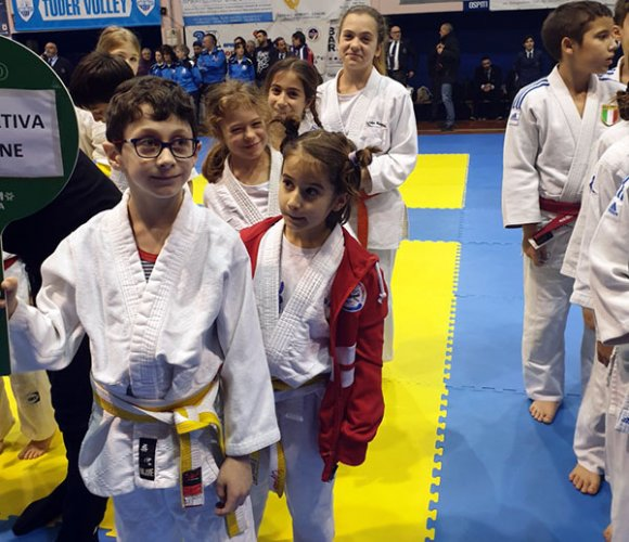 Sezione Judo Polisportiva Riccione al VII Trofeo Internazionale Città di Massa Martana