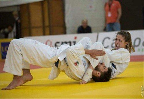 Marika Mazzoni, un amore sconfinato per il ju jitsu