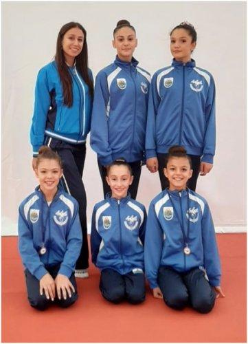 Buona terza prova regionale per le atlete della SS Ginnastica San Marino