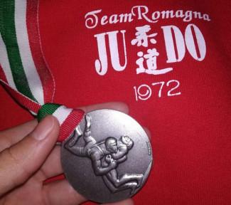 Il Team Romagna Judo apre il 2020 con una medaglia d'argento al Campionato Assoluti di Lotta