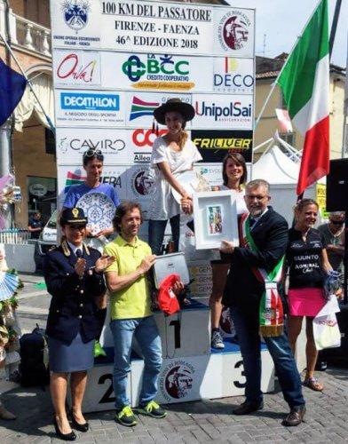 Atletica 85 sale sul podio della 100km del Passatore con Elisa Zannoni