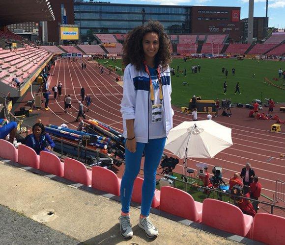 Beatrice Berti a Tampere per i Campionati del Mondo Under20