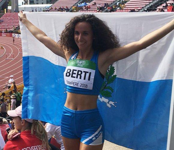 Beatrice Berti brilla ai Campionati del Mondo Under20 a Tampere