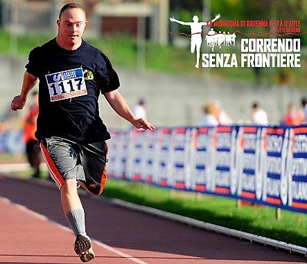 «Correndo senza frontiere», alla maratona di Ravenna la disabilità scende in strada
