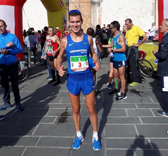 Giacobazzi campione italiano Under23 e bronzo assoluto di mezza maratona