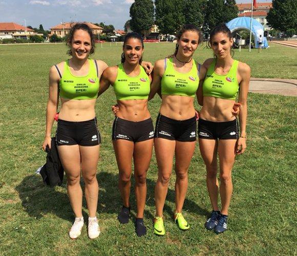Atletica 85 Faenza spinge la rappresentativa regionale dell'Emilia-Romagna