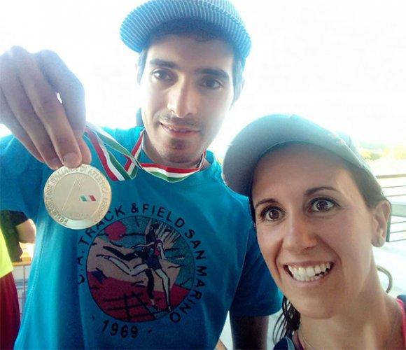 Luca Maccapani campione italiano master nel salto in lungo