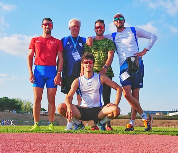 Bilancio giochi del mediterraneo per la nazionale di atletica sammarinese