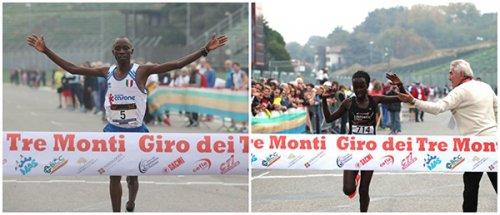 Dominio keniota al 50° «Giro dei Tre Monti»