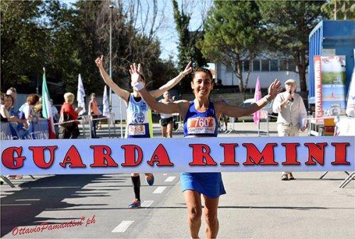 Runners show alla 3^ GuardaRimini con El Haissoufi, Diouf, Oppioli, Moroni e Nanu
