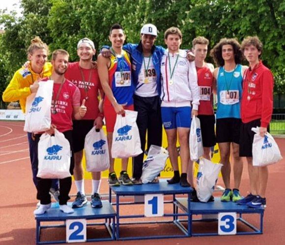 Decathlon, Andrea Mazzanti campione regionale