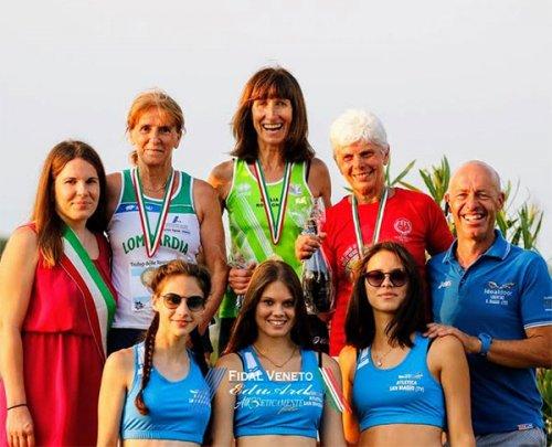 Atletica 85 con due punte di diamante spinge l'Emilia-Romagna al Trofeo delle Regioni Master