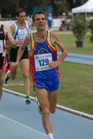 Daniele Dottori di bronzo ai regionali di cross master