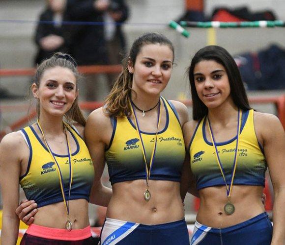 Otto atleti di casa Fratellanza alla caccia dei titoli italiani assoluti