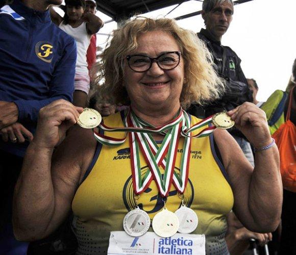 Campionati italiani Master, 11 titoli per gli atleti gialloblù