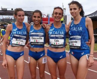 Cascavilla di nuovo azzurra per i Mondiali di mezza maratona