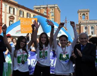 Corritalia, la scuola Benedetto Croce di Forlì vince la 18esima edizione della podistica AICS.