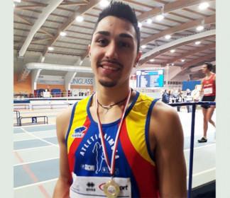 Eptathlon indoor, Andrea Mazzanti campione regionale