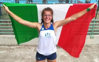 Rebecca Scardovi, Marta Morara e Michele bBini campioni italiani under 23