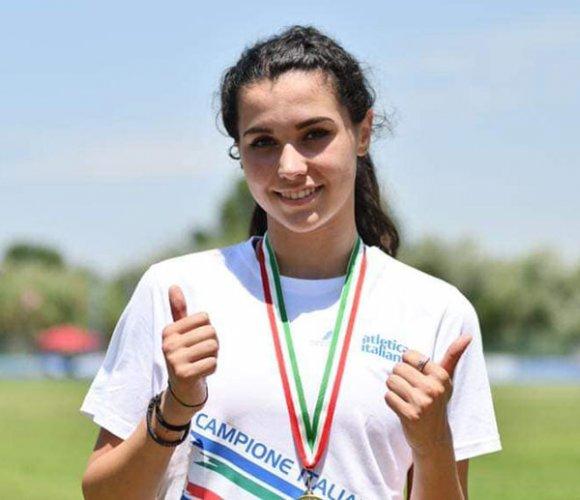 Medaglia d'oro per Laura Elena Rami (CUS Bologna) ai campionati italiani allievi di atletica leggera