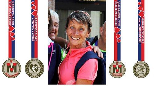 Crevalcore 2020: la madrina Emma Scaunigh presenta le medaglie di Maratona e Mezza